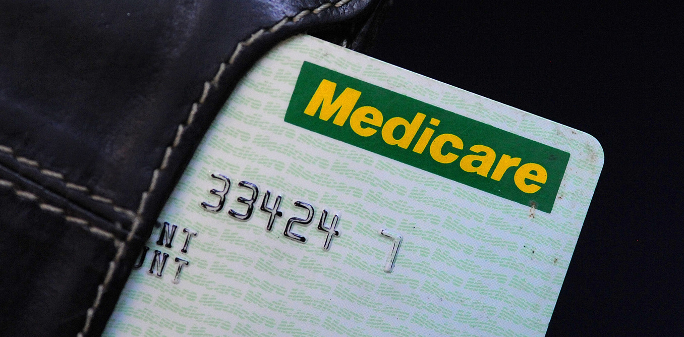 Stock photo of a Medicare card, Monday, May 12, 2008. Federal Treasurer Wayne Swan is expected to announce changes to the medicare surcharge threshold at the federal Labor budget tomorrow. (AAP Image/Dave Hunt) NO ARCHIVING